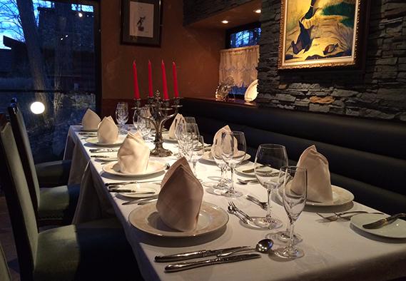 別室レストラン「アヴァンセ」