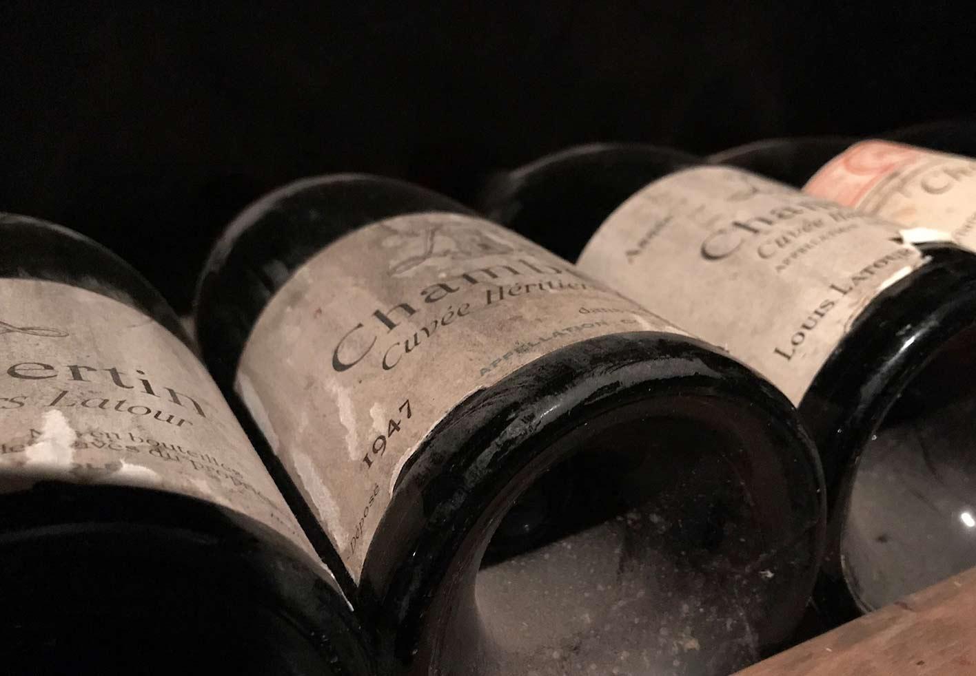 希少なワインも取り揃えています