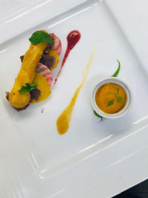 信州の厳選食材を中心にシェフの感性で作り出す3種の前菜